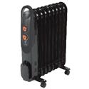Масляные радиаторыиспользуются как основной или дополнительный источник тепла в жилых и нежилых помещениях (квартирах, офисах и т.п.). Температура корпусамасляных обогревателейобычно не превышает 60 °С, так что о запахе гари или пыли, который может преследовать обычные тепловентиляторы, можно не беспокоиться. Масляный радиатор может работать несколько суток подряд.